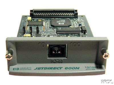 REFURBISHED HP J3113A Jet Direct Card SUPER SALE / HP 600N <font color=red><b>SHIPPING INCLUDED!!!